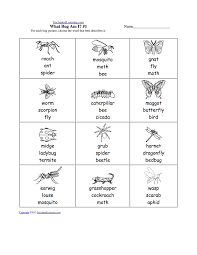 Free Printable First Grade Phonics Worksheets Insects Worksheets Free Draw And Write 3 Bugs Printable