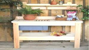 potting bench plans u2013 home design
