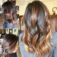 curly hair with lowlights 100 caramel highlights ideas for all hair colors
