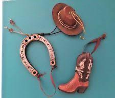 horseshoe christmas ornaments western christmas ornaments ebay