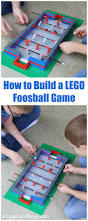 how to build a lego foosball game lego projects project ideas