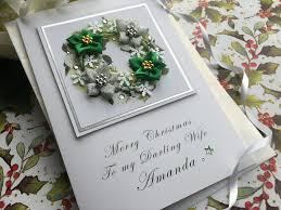 handmade christmas cards personalised christmas cards pink u0026 posh