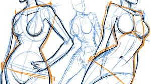 draw how to draw the female body youtube