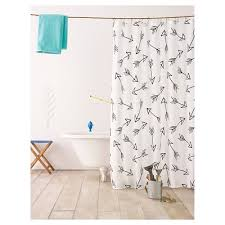 Mimi Shower Curtain Black Shower Curtains U0026 Liners Target