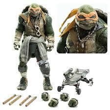 teenage mutant ninja turtles movie michelangelo figure threezero