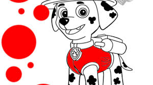 paw patrol paw patrol marshall colouring pages preschoolers