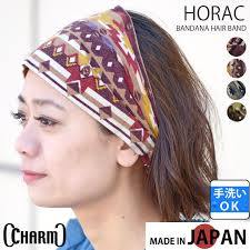 hair band casualbox rakuten global market the horac bandana style