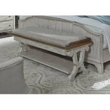 heavy duty bedroom benches wayfair