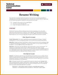 How To Highlight Skills In by 7 Write Resume Objective Agenda Example