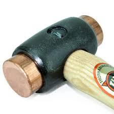 thor 310 copper copper hammer size no 1 32mm 850gr tho310 ebay