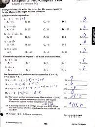 glencoe pre algebra answers for worksheets worksheets