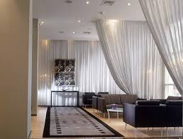 Hanging Curtain Room Divider Ceiling Room Dividers Floor To Divider Curtains Example Of A