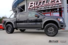 Ford Raptor All Black - ford raptor with 20in black rhino sierra wheels exclusively from