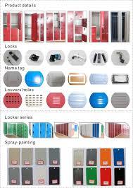 modern different colour single door steel almirah designs wardrobe