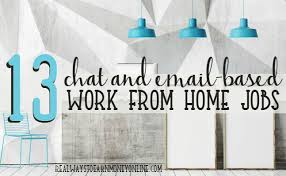Work From Home Logo Design Jobs Chat And Email Jobs From Home
