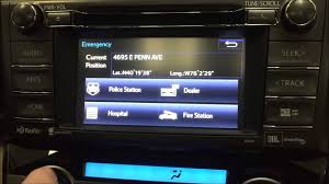 lexus ls 460 hidden menu how to using the features in your toyota navigation system youtube