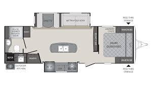 2018 keystone premier 26rbpr model floor plan