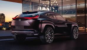 future cars brutish new lexus lexus ux concept has hologram display paris motor show business