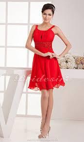 a linie herzausschnitt knielang chiffon brautjungfernkleid mit gestupft p551 bridesire partykleider kleider für besondere anlässe 2017