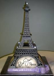 Eiffel Tower Decorations Paris Cakes Eiffel Tower Cake Parisian Cakes Pinterest