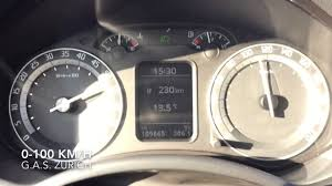 skoda octavia rs ii 0 100 km h acceleration youtube