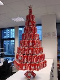 What Trees Are Christmas Trees - coca cola christmas tree oh look a soda can christmas tree
