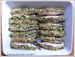 comment cuisiner des filets de sardines variations gourmandes les sardines farcies à la niçoise
