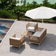 meubles en teck massif décoration de jardin pourquoi miser sur le mobilier en teck
