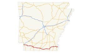 Arkansas Map Us Arkansas Highway 2 Wikipedia