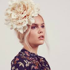 flower hairband seren oversize peony flower headband rock n