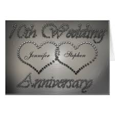 10th wedding anniversary 10th wedding anniversary cards invitations zazzle co uk