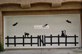 halloween garage door decorations u2013 halloween decorating ideas for