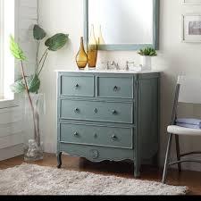 34 u201d cottage look daleville bathroom sink vanity hf081y vintage
