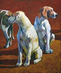 bichon frise z hter hessen chisholm gallery leslie shiels polo art sporting art and