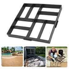 Concrete Garden Furniture Molds by 40 40cm Stone Mold Driveway Rectangle Paving Pavement Garden Diy