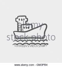 container ship with hand draw stock vector art u0026 illustration