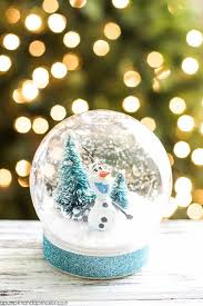 snow decoration 13 diy snowglobes that will get you excited for christmas how to