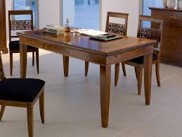 Rectangular Table L Rectangular Cherry Wood Table Arte Collection