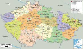 Europe Cities Map by Maps Of Czech Republic Detailed Map Of The Czech Republic In
