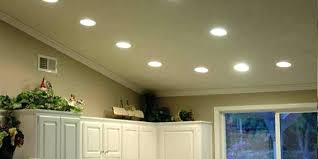 Installing Led Recessed Ceiling Lights Cost To Install Recessed Lighting Kitchen With Professionally
