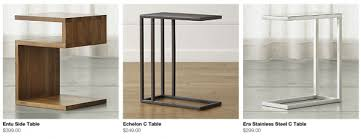 tj maxx side tables affordable c tables the lettered cottage