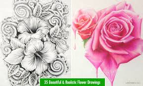 design flower rose drawing webneel com sites default files images blog flower
