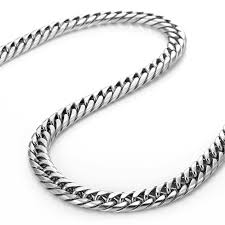 necklace steel images Stainless steel necklace for men jpg