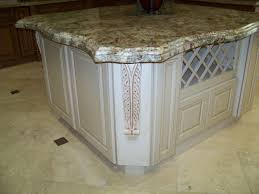 Antique Island For Kitchen by Interesting Kitchen Island Granite Edges Installation Andino White