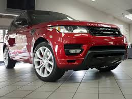 land rover autobiography red interior used 2014 land rover range rover sport 5 0l v8 supercharged