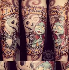 tattoo nightmares los angeles california the corpse bride tattoos tattoo nightmare before christmass jack