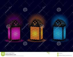 beautiful egyptian lamps vector stock image image 19561811