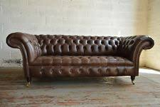 Chesterfield Sofa Antique Chesterfield Leather Sofas Ebay
