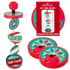 4pk ornament gift card holders by hallmark