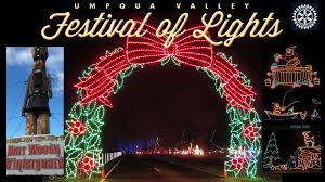 Christmas Lights Festival by Festival Of Lights Roseburg Oregon
